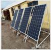 廠家直銷100w 單晶太陽能電池板 太陽能電池片