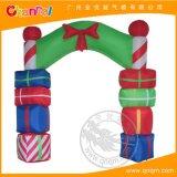 供應耶誕節日充氣拱門定制 卡通充氣模型 氣模批發 場景布置拱門