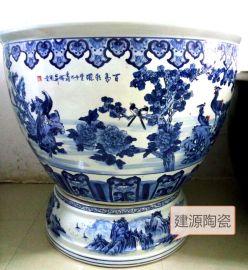 定做陶瓷大缸,发酵缸,大口缸 1米特大水缸批发