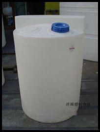 厂家直销500L食品级塑料搅拌桶 500公斤药剂桶 软化药箱PE投药桶