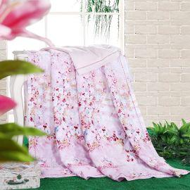 天茂家纺新款天丝印花单人1.5米羽丝绒空调夏凉被