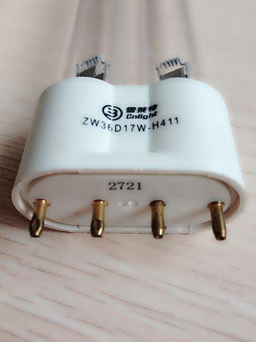 ZW36D17W-H411雪萊特紫外線殺菌燈,