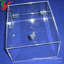 深圳龙岗有机玻璃加工厂家定做亚克力糖果盒天地盖五谷杂粮食品盒