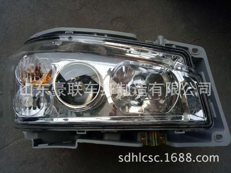 重汽豪沃驾驶室大灯总成  重汽豪沃驾驶室 配件厂家直销厂家价格