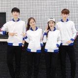 韓版情侶運動外套學生班服男女棒球服衛衣廣告衫團隊服工作服訂製