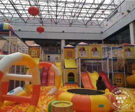 350平百万球池淘气堡 儿童城堡乐园设备 魔鬼滑梯 大型儿童游乐场