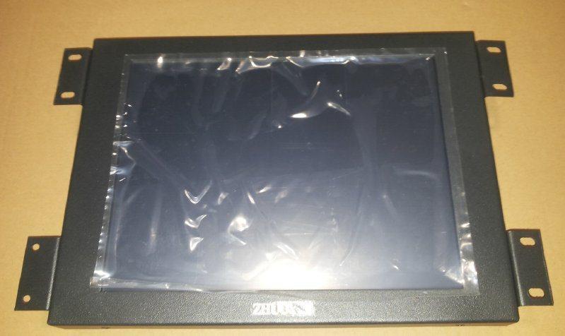 10.4寸触摸显示器4:3触摸,LED高亮屏,防水金属外壳抗干扰好