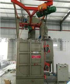 供应Q376双吊钩抛丸机 抛丸清理机设备