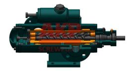 南京艾科泵业全系列供应点火油泵三螺杆泵SMH1300R46U12.1W0