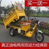 新款燃油三轮车,油电两用三轮车,油电混合整车三轮摩托车
