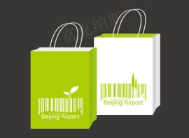 南通学校宣传袋,江苏手提服装袋购物袋定制logo