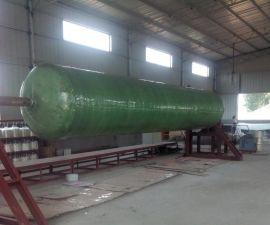 PE塑料化粪池 玻璃钢三格式化粪池 双翁漏斗式化粪池厂家直销