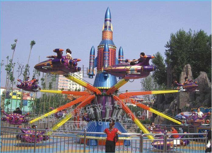 大型自控飞机  中 自控升降旋转飞机价格 儿童游乐设备