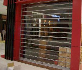 上海市薩都奇電動水晶捲簾門價格 PVC水晶捲簾門 卷閘門廠家直銷 批發採購
