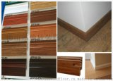佛山PVC地板踢脚线 8分白色踢脚线防水塑料地脚线