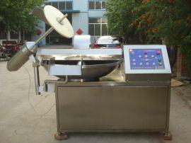 供应哈尔滨红肠肉料斩拌机 自动出料斩拌机