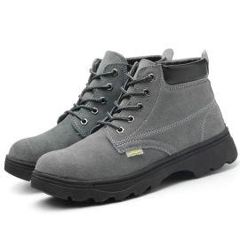 凱朗特春夏新款牛二層皮反毛勞保鞋