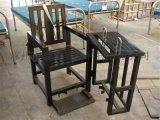 铁质审讯椅 方管笼型审讯桌椅