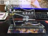 南京专业生产老兵退伍水晶纪念品