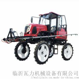柴油自走式喷杆打药机/农用柴油打药机 喷雾器