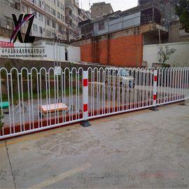 兴县道路护栏 市政护栏 锌钢护栏 交通安全护栏