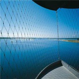特价促销公园吊桥钢丝绳网,池塘钢丝绳防护网,动物园马戏团安全网