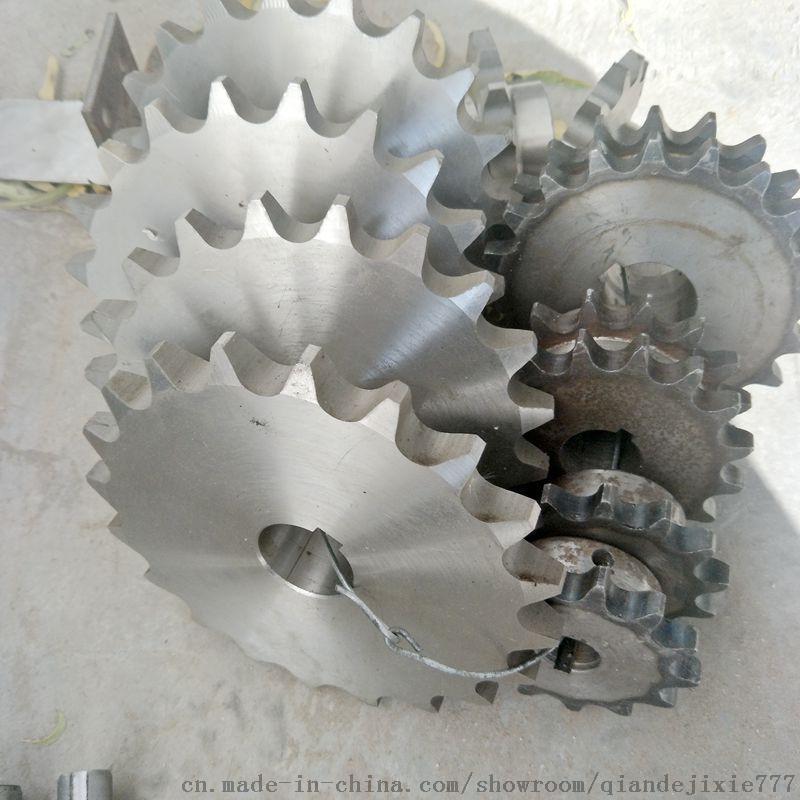 乾德不锈钢链轮 张紧链条链轮传动链 优惠厂家
