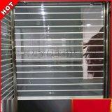 深圳供應 鋁合金直條  水晶門 電動遙控水晶捲簾門