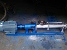 兰丰G50-1不锈钢污泥螺杆泵,螺杆泵厂家直销