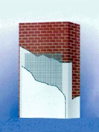 外墙外保温专用网格布(120-300g)