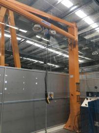 定柱式悬臂起重机 1吨电动悬臂吊 手动悬臂吊
