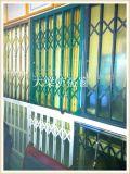 大樑推拉式折疊活動防盜窗墨綠色防盜窗價格