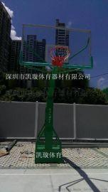深圳  移动式篮球架批发   户外固定式篮球架