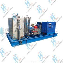 管道高压清洗机 设备大压力化工厂冷凝器凝汽器电动