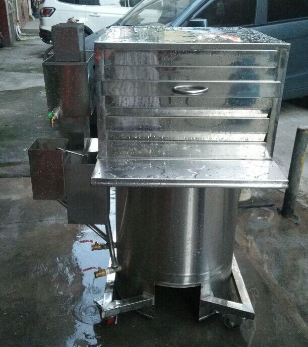 广东肠粉机选云城高压节能肠粉炉,大蒸汽大托盘出粉更嫩滑