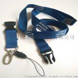 挂绳挂脖子订做带安全扣及飞机扣的涤纶挂绳直销广州