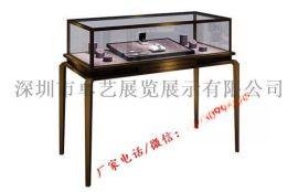 深圳不锈钢珠宝展柜制作厂家高档首饰钻石黄金展柜
