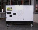 水冷25千瓦靜音柴油發電機車載式