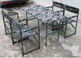 [鑫盾安防]便攜摺疊野戰摺疊桌椅 便攜野戰摺疊桌椅圖片