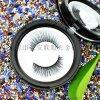 喷漆工艺圆形带镜假睫毛盒