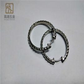 **304不锈钢耳环,耳饰,厂家定制硅溶胶铸造