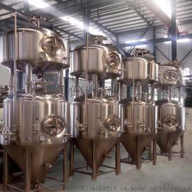 啤酒厂酿酒设备,小型精酿啤酒厂啤酒生产设备
