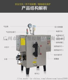 旭恩24千瓦电蒸汽发生器立式蒸汽锅炉