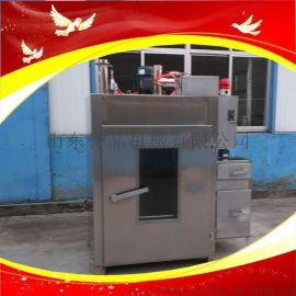 全自动腊肠腊肉不锈钢烘干烟熏上色机鹌鹑蛋上色机器