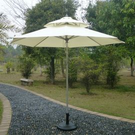 中柱铝伞(单层、双层)户外遮阳伞