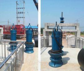 浮筒泵600QZB水面漂浮式潜水轴流泵