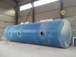 玻璃钢5号化粪池 波纹式排污消防水箱规格 化粪池