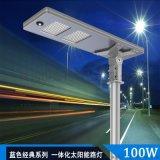 100W太陽能光伏路燈 ,LED道路燈