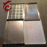 304不鏽鋼烘盤托盤無孔盤烘乾箱熱風迴圈烘箱專用烘盤非標定製