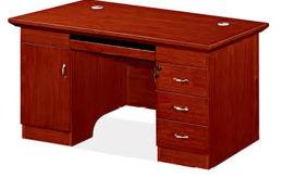 1451款1.2米油漆文员台 胡桃木皮绿色环保家具